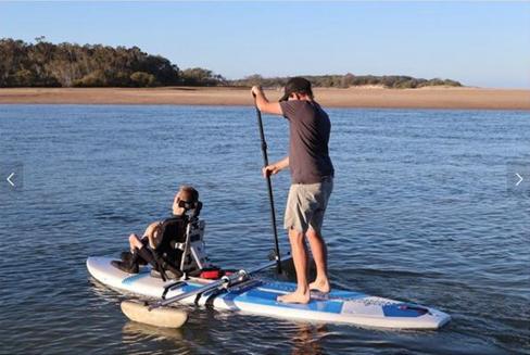 身障者也能游泳、开卡丁车